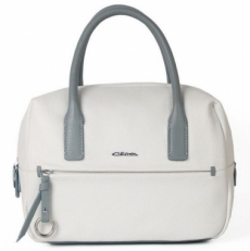 Женская сумка из белой кожи 2017120