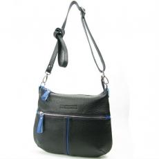 Небольшая сумка женская из кожи 3041 черная