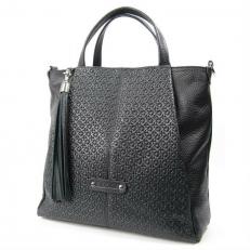 Крупная сумка женская с короткими ручками 3117