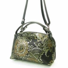 Женская сумочка KSK 3822 золотой узор