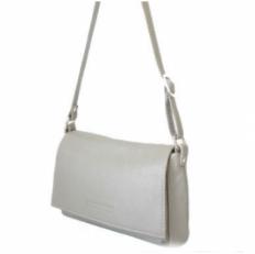 Летняя сумочка женская из бежевой кожи 421.4