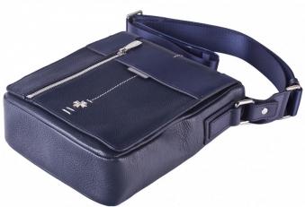 Мужская сумка 9465 N.Polo D.Blue/ Prada D.Blue фото-2