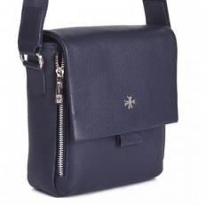 Кожаная сумочка 9488 N.Polo D.Blue