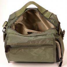 Мужская сумка через плечо тканевая 0140046 фото-2