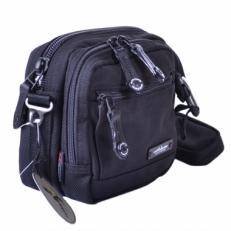 Мужская сумка 40163 черная фото-2