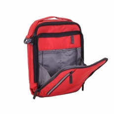 Маленькая дорожная сумка 60004 10 красная фото-2
