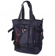 Молодежная сумка на плечо 60075 черная