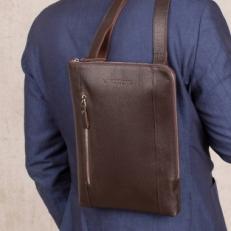 Сумка мужская на плечо Dorian Brown фото-2