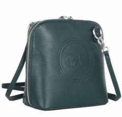 Маленькая женская сумка 22395 Q33 зеленая