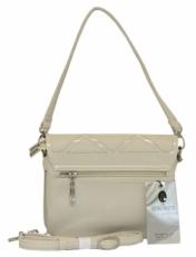 Маленькая сумочка с замком с ромбами 60226 фото-2