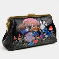 "Клатч с рисунком ""Алиса в стране чудес"" фото-2"