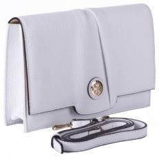 Белая сумка-клатч Narvin 9957 N.Polo White