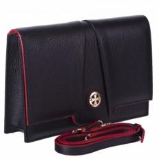 Черная сумка-клатч Narvin 9957 N.Polo Black