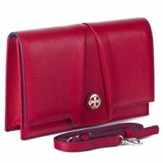 Красная сумка-клатч Narvin 9957 N.Polo Red