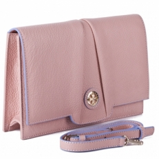 Светлая сумка-клатч Narvin 9957 N.Polo Pudra