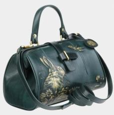 Зеленая сумка-саквояж «Ла Ливьер»