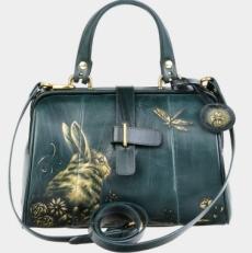 Зеленая сумка-саквояж «Ла Ливьер» фото-2