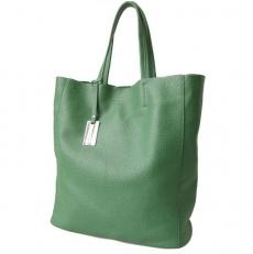 Сумка-мешок с двумя короткими ручками 3002 зеленая