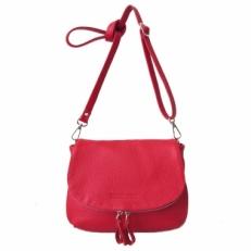 Кожаная сумка красная KSK 401.4 фото-2