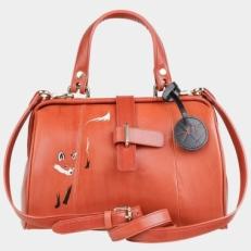 Оранжевый саквояж «Лисичка» фото-2