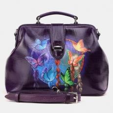 Необычная сумка-саквояж W0023