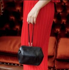 Маленькая сумочка Manilla черная фото-2