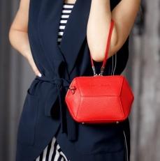 Маленькая сумочка Manilla красная фото-2