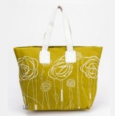 Пляжная сумка 10081-BE зеленая
