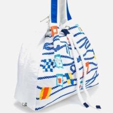 Белая пляжная сумка 10472-BE