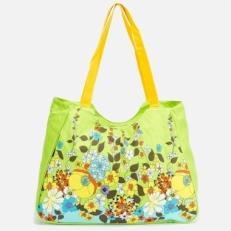 Пляжная сумка 10612-BE зеленая