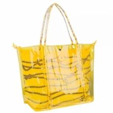 Прозрачная пляжная сумка 10B792-SB yellow