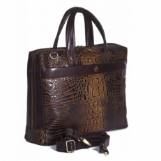 Деловая сумка Vasheron 9752 Bambino Olive фото-2