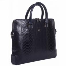 Кожаная сумка Vasheron 9754 Anaconda D.Blue