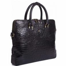 Кожаная сумка Vasheron 9754 Bambino Black