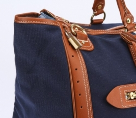 Дорожная сумка 28755 синяя фото-2