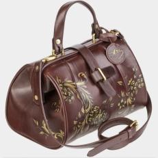 Женская сумка-саквояж «Золотая Капитель»