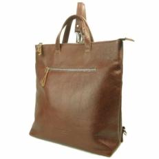 Коричневый кожаный рюкзак 5515
