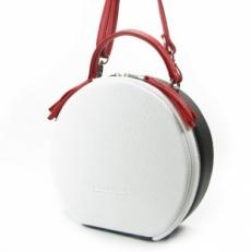 Круглая женская сумка 8223