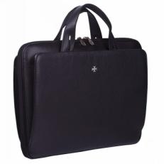 Деловая сумка Narvin 9753 Polo Black