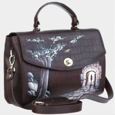 Дамская сумочка Рилье «Тропа в Зазеркалье»