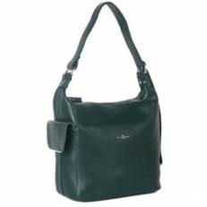 Зеленая женская сумка 31454 Q33
