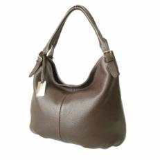 Повседневная женская сумка из коричневой кожи 3689