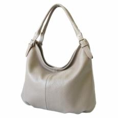 Женская сумка с двумя ручками 3689 бежевая
