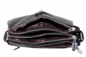 Сумочка клатч черная 2141-1 фото-2