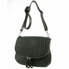 Кожаная сумочка 401.4 черная
