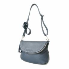 Кожаная женская сумка KSK 401.2 синяя