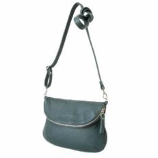 Кожаная сумка KSK 401.2 зеленая