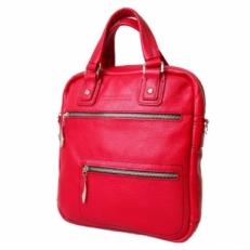 Кожаная сумка KSK 7300 красная