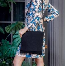 Женская сумка Sylvia Dark Black фото-2