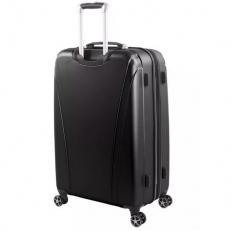 Черный большой чемодан на колесах Tallac фото-2
